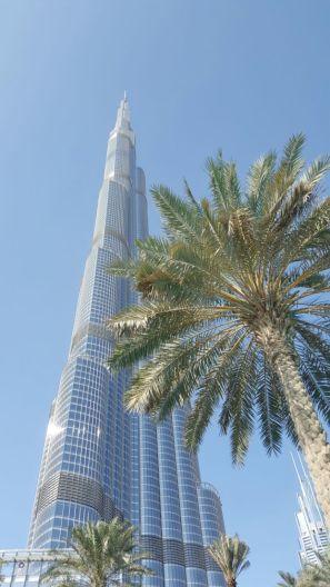 Burj Khalifa. Photo credits: Dad