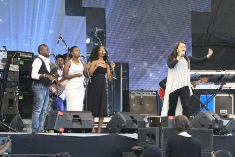Sofi on stage!